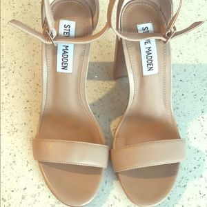 Carrson Blush Leather Heels